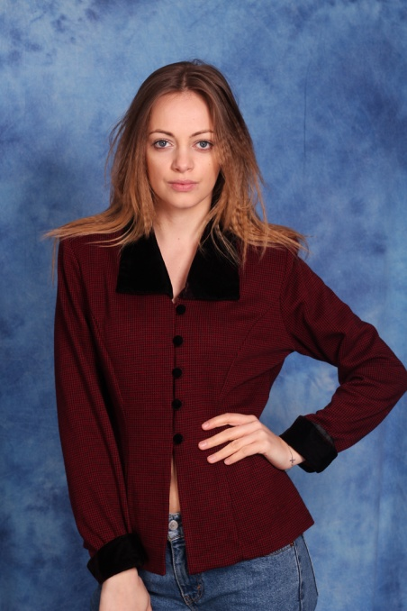 Vintage bluzka w...