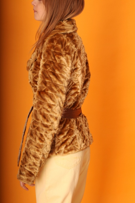 Vintage sztuczne futerko z...