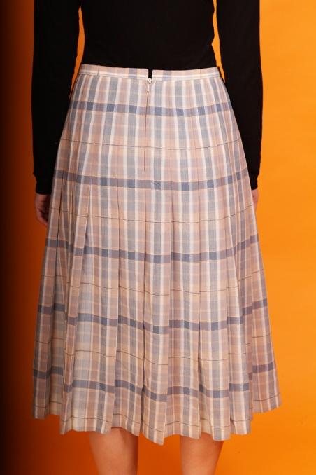 Vintage wełniana  spódnica...