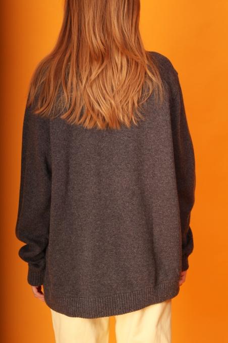Vintage grey woolen fully...