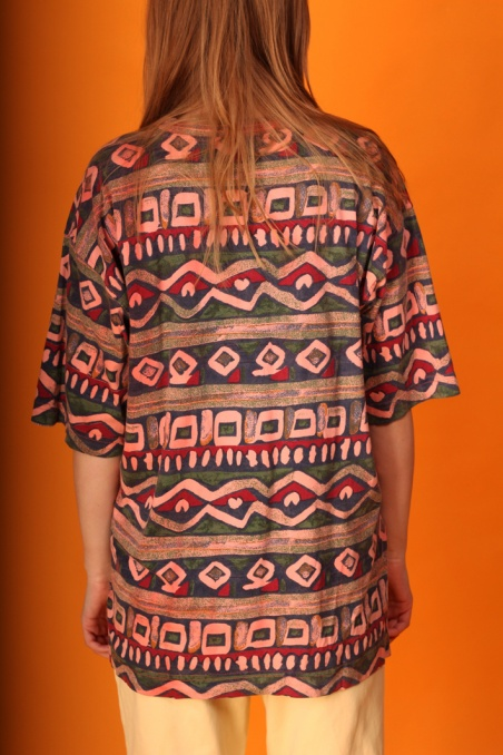 Vintage colorful aztec...