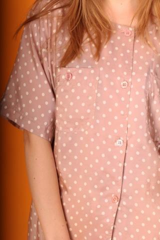 Vintage jedwabna koszula...