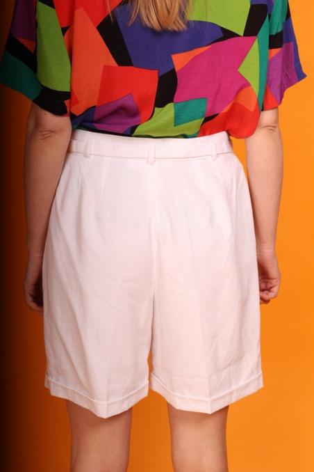 Vintage białe szorty z...