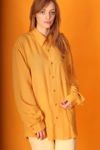 Vintage yellow long shirt...