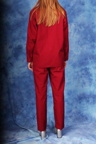 Vintage bawełniany garnitur...