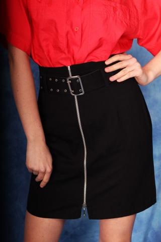 Vintage czarna spódniczka...