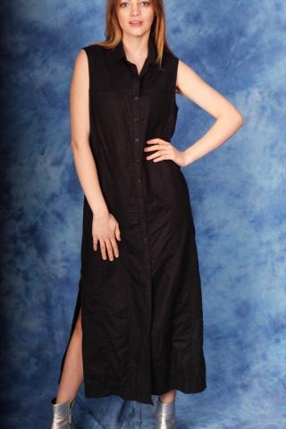 Vintage czarna sukienka...
