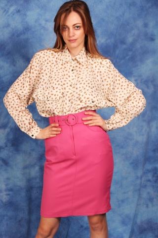 Vintage różowa spódniczkaz...