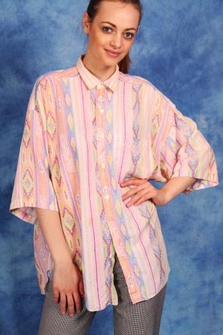 Vintage pastelowa koszula...
