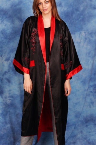 Vintage dwustronne kimono...