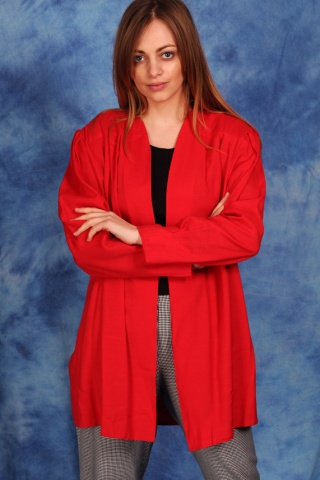 Vintage red oversize jacket...
