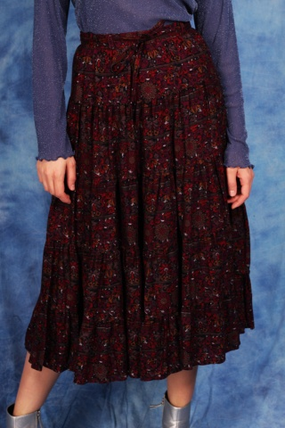 Vintage kwiecista spódnica...