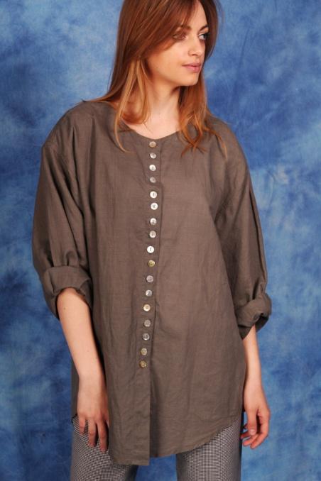 Vintage koszula oversize w...