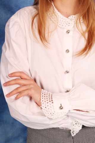 Vintage white cotton shirt...