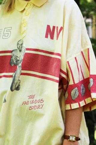 Vintage bawełniana bluzka...