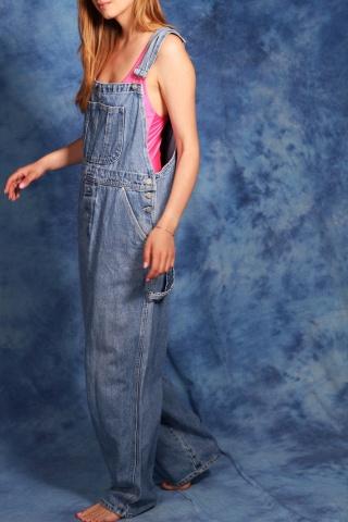 Vintage jasne niebieskie...