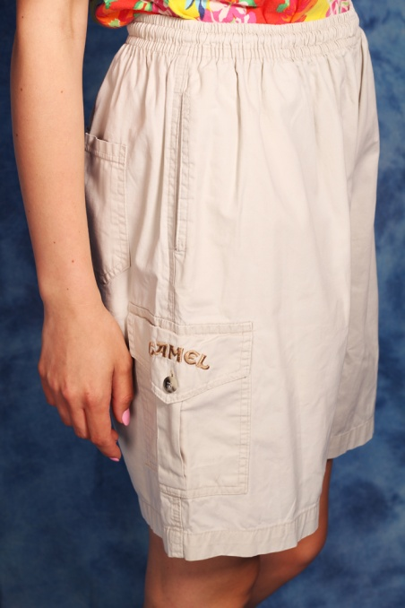 Vintage bawełniane szorty...