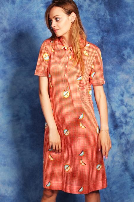 Vintage cudna sukienka w...