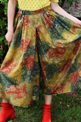 Vintage kolorowe wzorzyste...