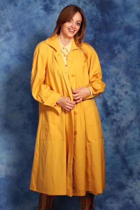 Vintage przejściowy żółty...