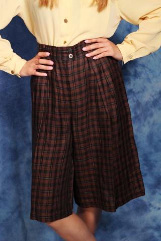 Vintage lniane spodnie...