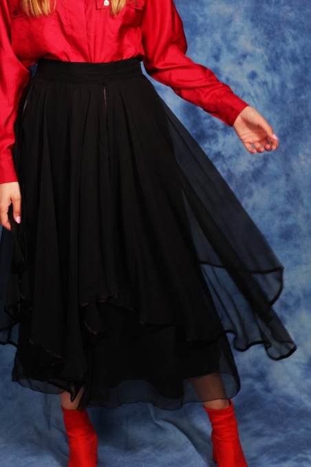 Vintage piękna czarna...