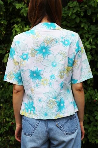 Vintage koszula z krótkim...