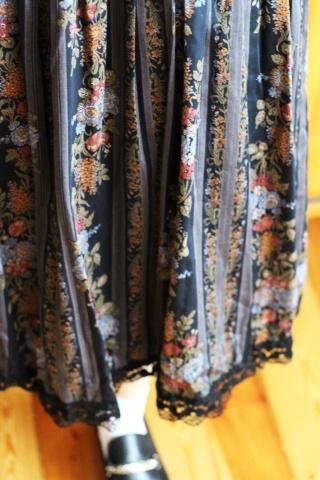 Vintage bawełniana spódnica...