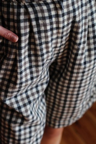 Vintage woolen check...