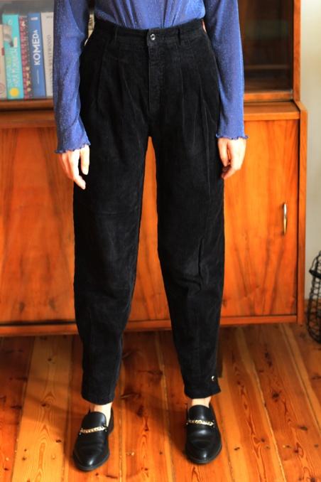 Vintage czarne spodnie...