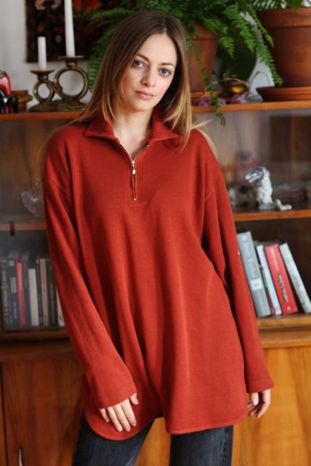 Vintage bluza oversize w...