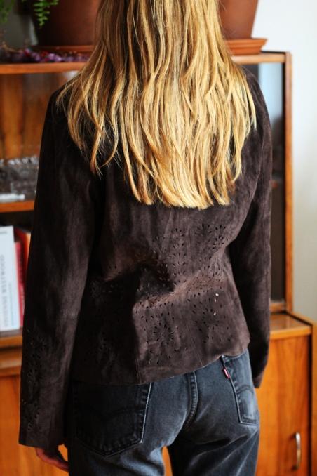 Vintage cool brown real...