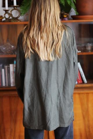 Vintage kurtka w miliarnym...