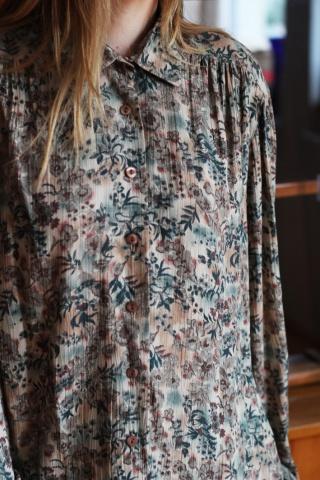 Vintage kwiecista koszula z...