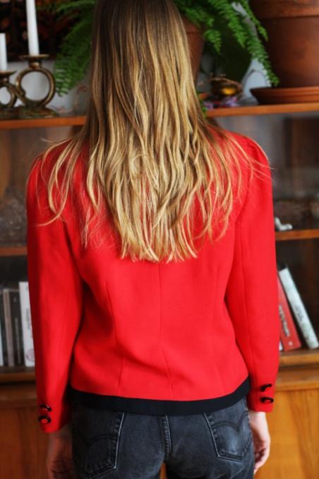 Vintage red and black...