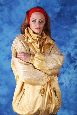 Vintage zimowa kurtka z...