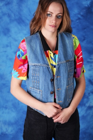Vintage kultowa jeansowa...
