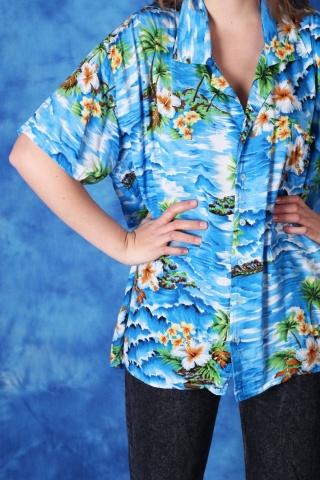 Vintage kolorowa Hawajska...