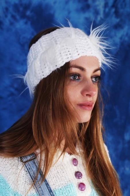 Vintage oldschoolowa biała...