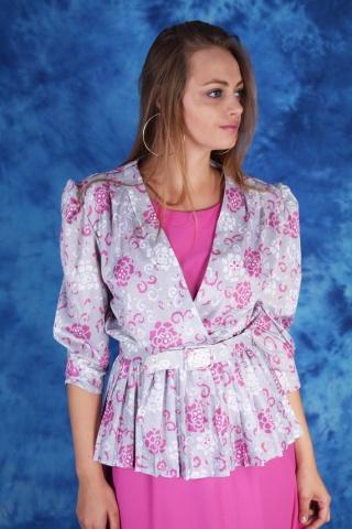 Vintage piękna różowa...