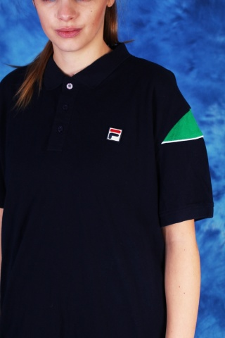 Vintage navy blue Fila polo...