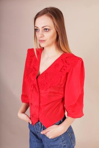 Vintage czerwona elegancka...