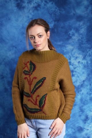 Vintage warm honey woolen...
