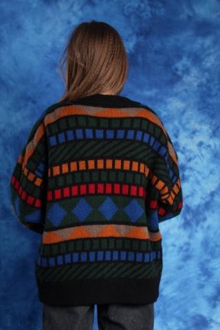 Vintage ciepły kolorowy...
