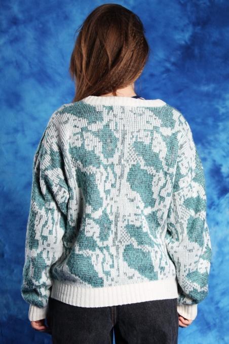 Vintage mint patterned...