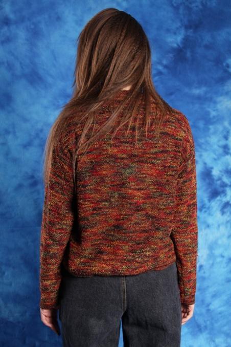 Vintage cieniowany sweterek...
