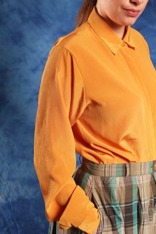 Vintage musztardowa koszula...