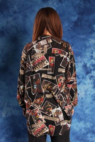 Vintage crazy patterned...