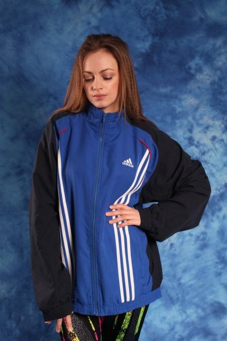 Vintage sportowa niebieska...