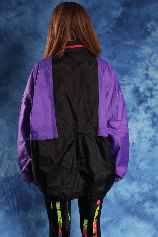 Vintage colofrful sporty jacket 80s vintage